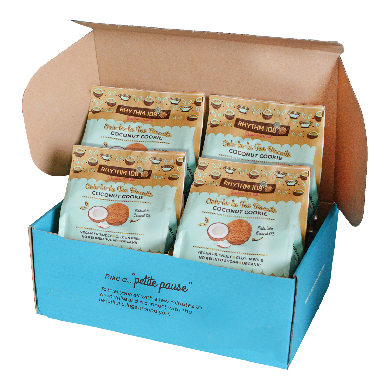 Tea Biscuits Sharebags: Coconut Cookie4 x 135g �C Rhythm 1081500 x 1500 png 3404kB
