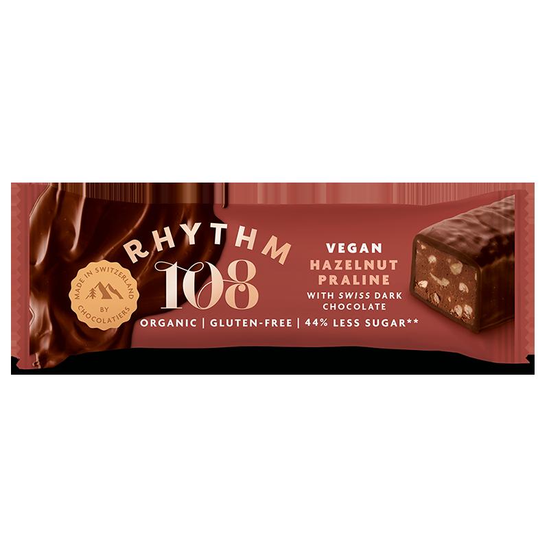 hazelnut swiss chocolate bar